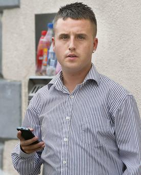 Conor Hannon: ordered to complete 100 hours of community work at court yesterday