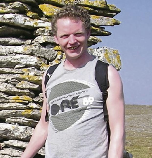 Archaeologist Emmet Connolly, who was stabbed to death
