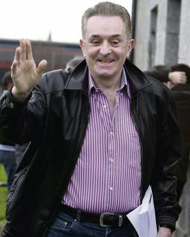 Former property developer Kevin McGeever outside Loughrea District Court