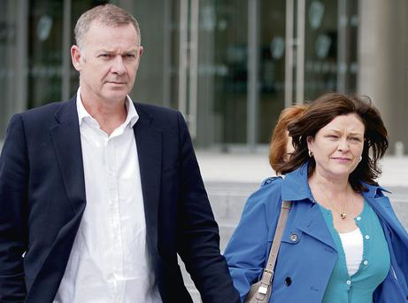 Paul and Aideen Costigan, who were betrayed by their friend Thomas Byrne.