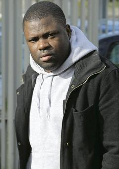 Charles Eyombo at Limerick District Court