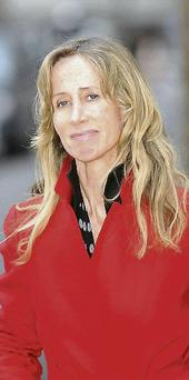 Michelle Young, estranged wife of bankrupt tycoon Scot. Ian Nicholson