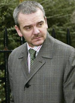 Thomas Byrne pictured soon after his practice closed down in 2007
