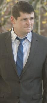 Michael Doyle after giving evidence in the trial of Eoin Guthrie