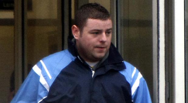 Paul McMenamy pictured leaving Tallaght District Court yesterday.