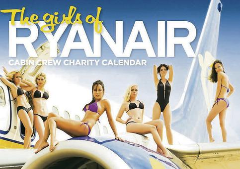 Ryanair's racy charity calendar has been running since 2008.