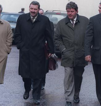 COURT BATTLE: Mick, left, and Tom Bailey, directors of Bovale, sought to limit the order disqualifying them as directors.