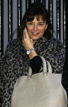 Ann O'Reilly leaves court after losing a challenge to a Employment Appeals Tribunal decision.