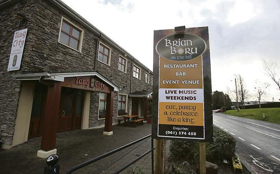 Killaloe District Court was sitting in the Brian Boru on the Hill pub, below, in Ballina, Co Tipperary
