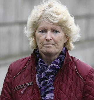 Jean Maher at the High Court. Collins Courts
