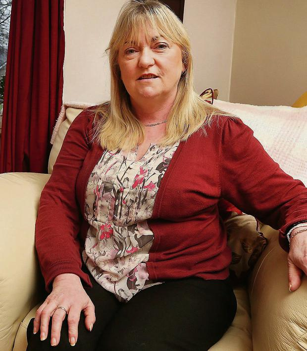 Brigid Roche at her Clonskeagh home last night. She said staff encouraged her to participate in the event. Steve Humphreys