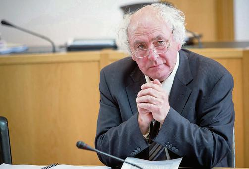 Fine Gael Cllr Joe Leonard, whose motion led to the court battle over rights of way in the grounds of Lissadell House, Co Sligo. Photo: Sell8/James Connolly