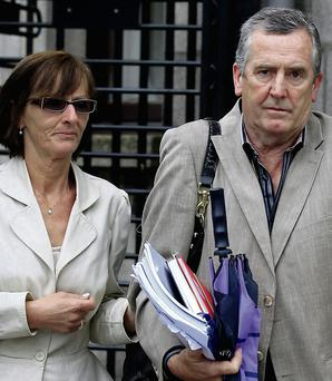 Mary Brennan with husband Philip
