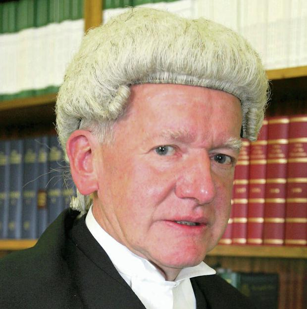 Mr Justice White, who retired today.