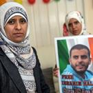 Somaia and Khadija Halawa, sisters of Ibrahim Halawa, who is being detained in Egypt, pictured at their home in Firhouse, Dublin. Photo: Arthur Carron
