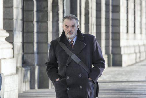 Ian Bailey arriving at the Four Courts