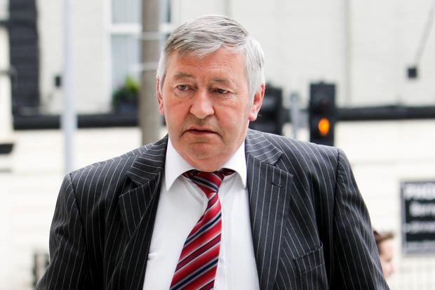 Graham Dwyer's father Sean at court for his son's sentencing