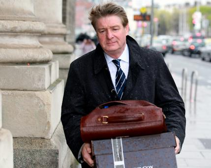Retired solicitor Brian O'Donnell