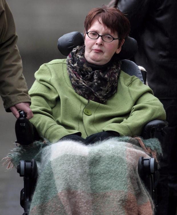 COMPASSION: The late Marie Fleming who campaigned for the right to end her life