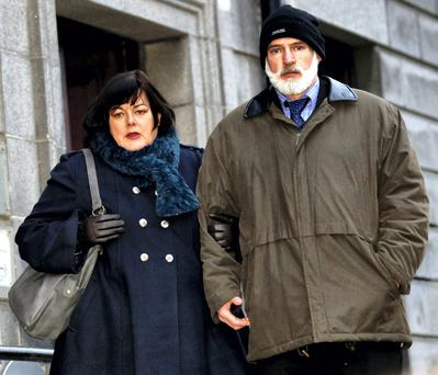 Long court battle: Brian and Mary O'Shaughnessy