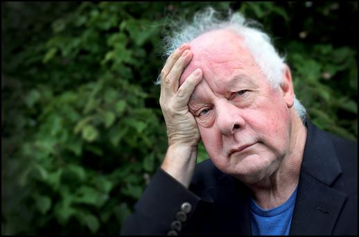 Film Director Jim Sheridan at Windmill Lane Studios in Dublin