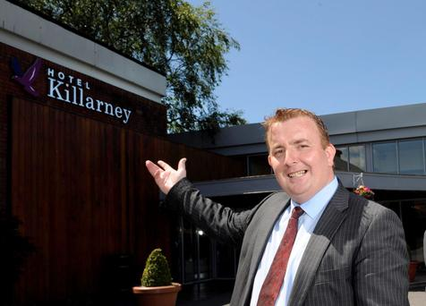 "Aidan Moynihan, Manager at The Killarney Hotel, has spoken of his ""shock"" at the handing down of suspended sentences to three people involved in a brawl at his hotel bar"