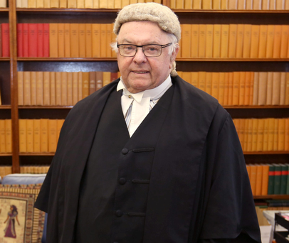 Colourful character: Judge Paul Carney
