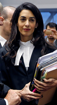 The legal firm of Amal Clooney is advising the family of Ibrahim Halawa