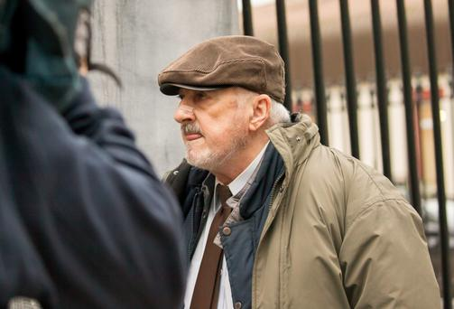 Henry Moloney outside court