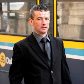 John Moran: abused driver for not giving a five cent receipt. Photo: Courtpix