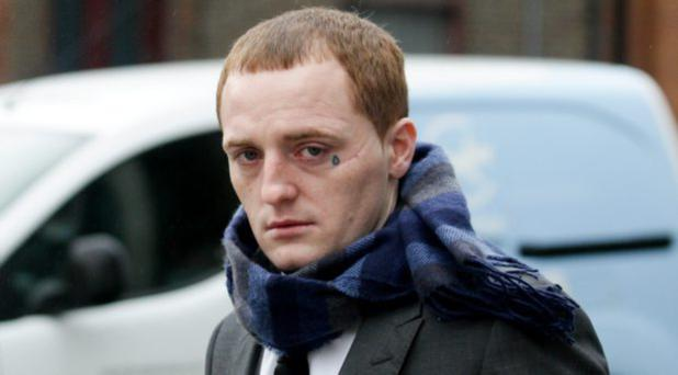 James Connors: jailed for life for the murder of Jason Ryan. Photo: Courtpix
