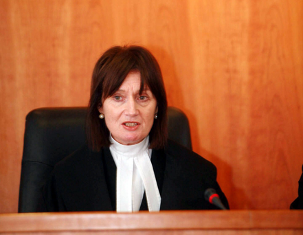 Hearing: Judge Bridget Reilly. Photo: Arthur Carron/Collins
