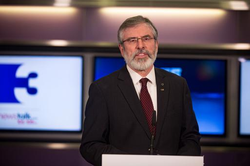 Gerry Adams. Photo: Arthur Carron
