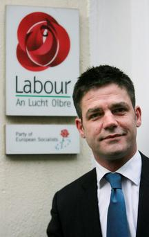 Former Sinn Féin and Labour Dublin City Councillor Killian Forde (pictured in 2010) Photo: Gareth Chaney Collins