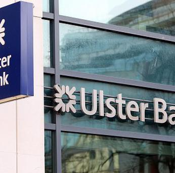 'By putting the book up for sale, Ulster Bank has made it clear that it does not want to be the one that has to face the music and dance'. Photo: PA
