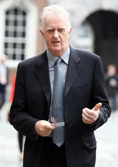 Mr Justice Peter Charleton is looking into the role of Noírín O'Sullivan Picture: Collins