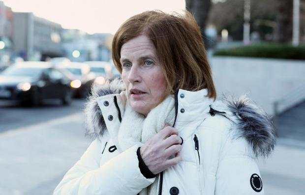 Mobile was analysed: Mary Lowry was sent a text from an anonymous person in September 2011 saying she was 'hiding something'. Photo: Collins Courts