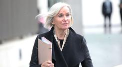 Retired State Pathologist Professor Marie Cassidy arrives at court. Picture: Collins