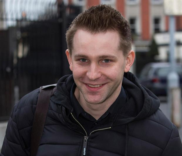 Pleased: Max Schrems has welcomed the court judgment. Picture: Courtpix