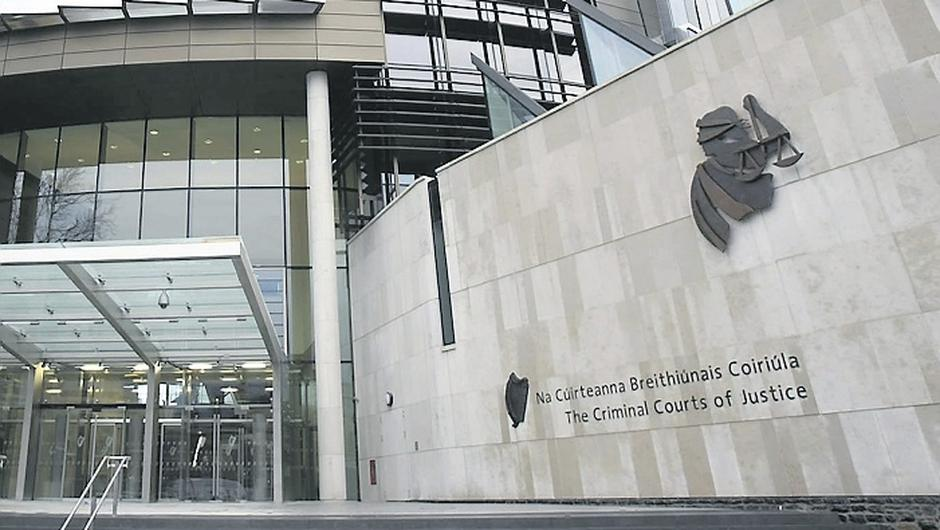 The Criminal Courts of Justice in Dublin.