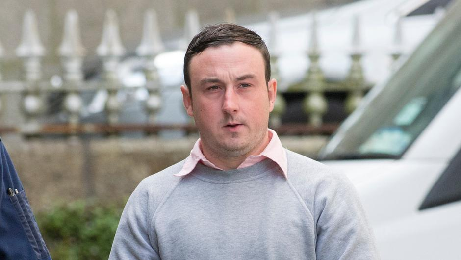 Eight people, includingAaron Brady (pictured), were arrested as part of theinquiry into witness intimidation. Photo: Collins Courts