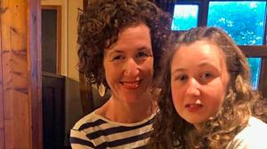Nóra Quoirin, pictured with mother Meabh, disappeared from resort. Photo: Quoirin family