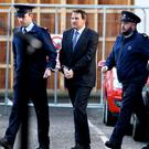 Graham Dwyer (centre) was convicted of the murder of childcare worker Elaine O'Hara
