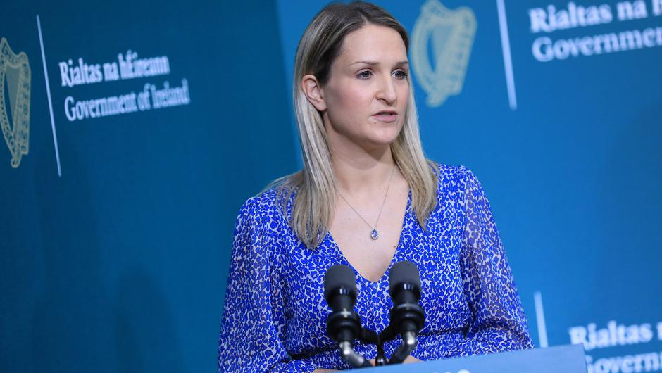 Justice Minister Helen McEntee aims to prevent crime passing down through generations with the new legislation. Photo: Julien Behal Photography