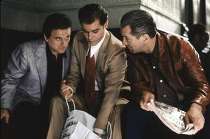 Like the 1990 mafia movie Goodfellas, prisoners have               relied on associates and family members passing over               illegal items on a small scale