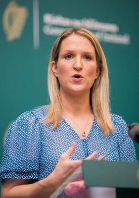 Action sought on knife crime: Justice Minister Helen               McEntee. Photo: Gareth Chaney/Collins