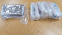 Cocaine and cash was seized by gardaí in Waterford