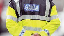 Garda stock...A generic stock photo of a Garda in Dublin....A