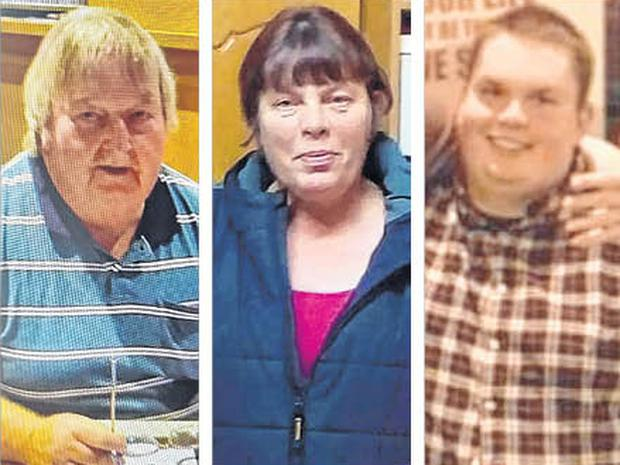 Mossie, Eileen and Jamie O'Sullivan were found dead in a suspected murder suicide at their home in Lixnaw, north Kerry