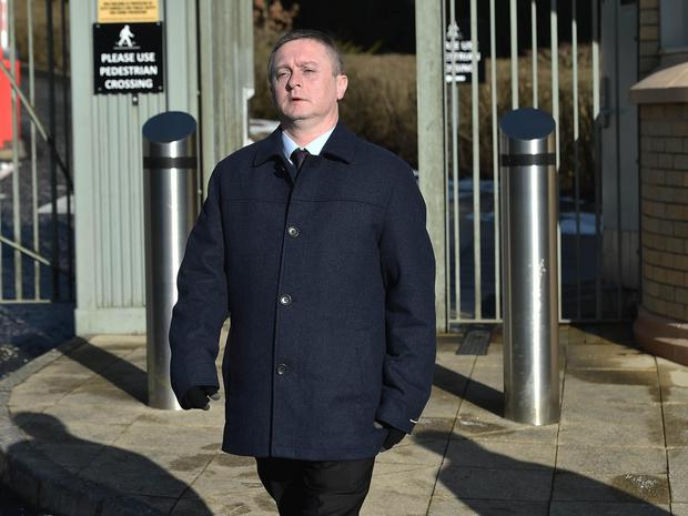 Stephen McKinney had previously denied murdering his 35-year-old wife. Picture: Pacemaker